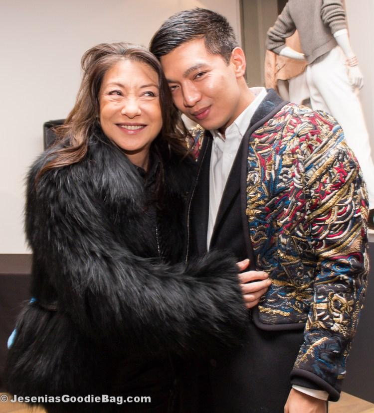 Barbara Bui with Bryan Boy