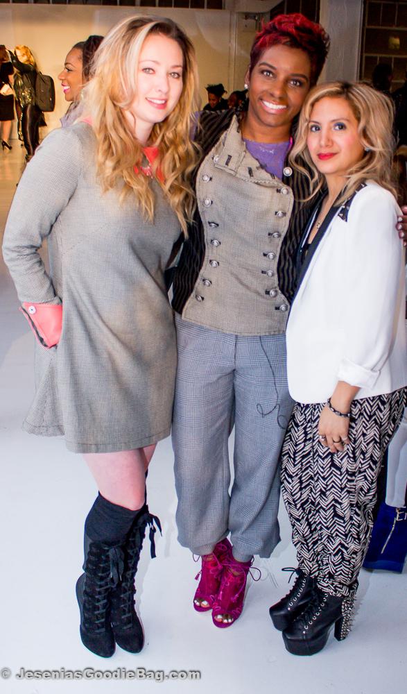 Nicole Styer & Kera Anderson (K.Nicole) with Jesenia (JGB Editor)