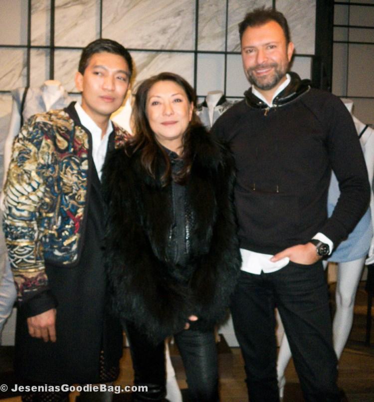 Bryan Boy & Barbara Bui with Khajak Keledjian (Intermix)