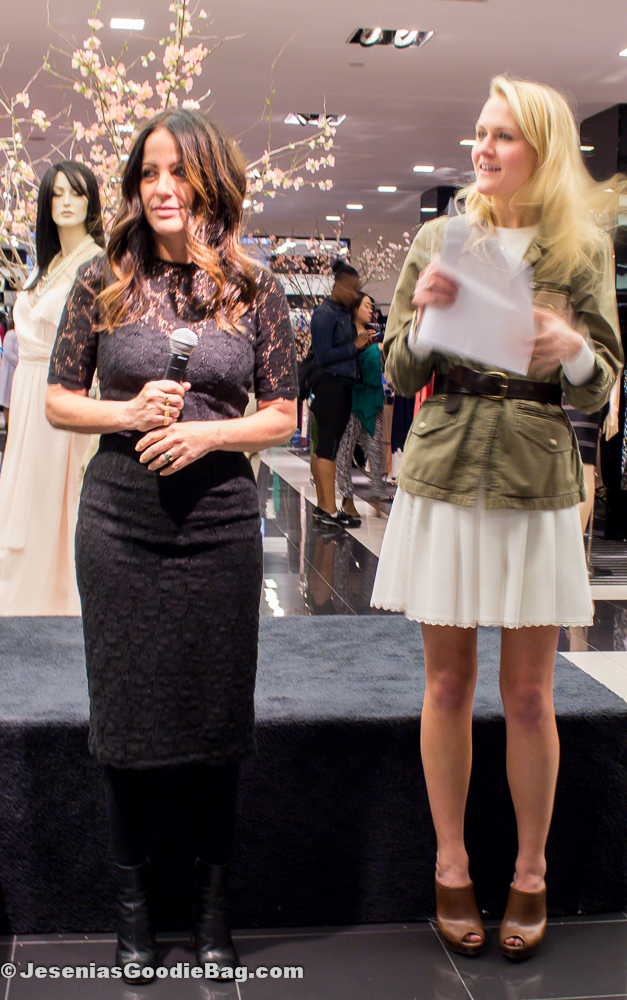 Jill Stuart (Designer) with Mary Kate Steinmiller (Teen Vogue)