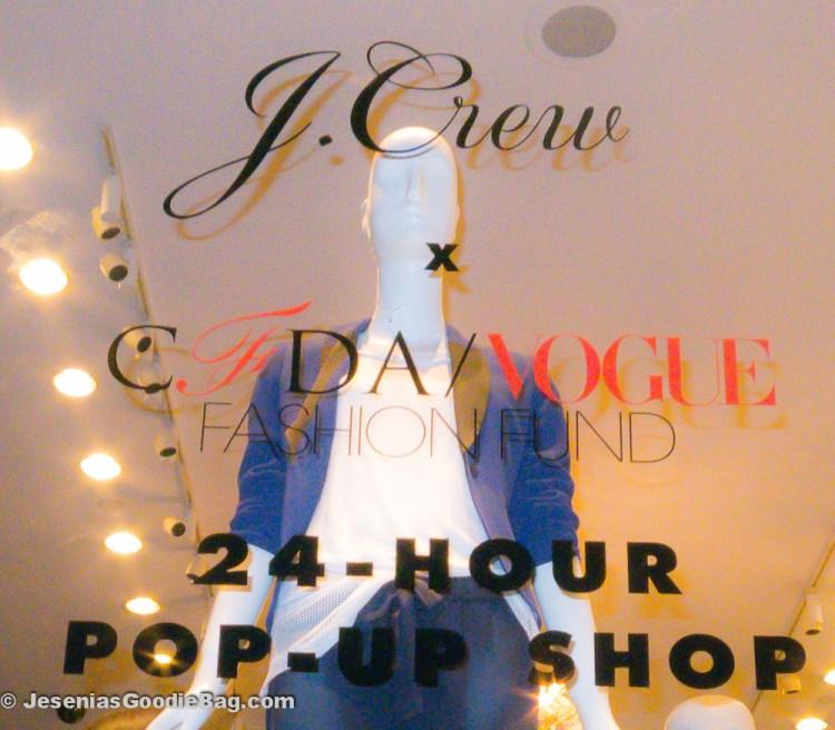 J.Crew + CFDA/VOGUE Fashion Fund: 24-Hour Pop-Up Shop