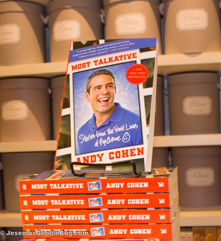 Most Talkative (By: Andy Cohen)