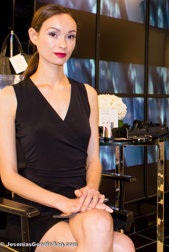 Vogue model wearing Jason Wu for Lancôme