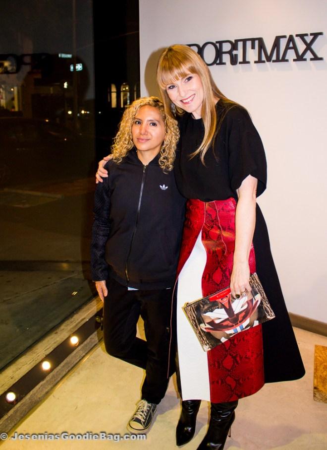 Jesenia (JGB Editor) with Amy Astley (Teen Vogue)