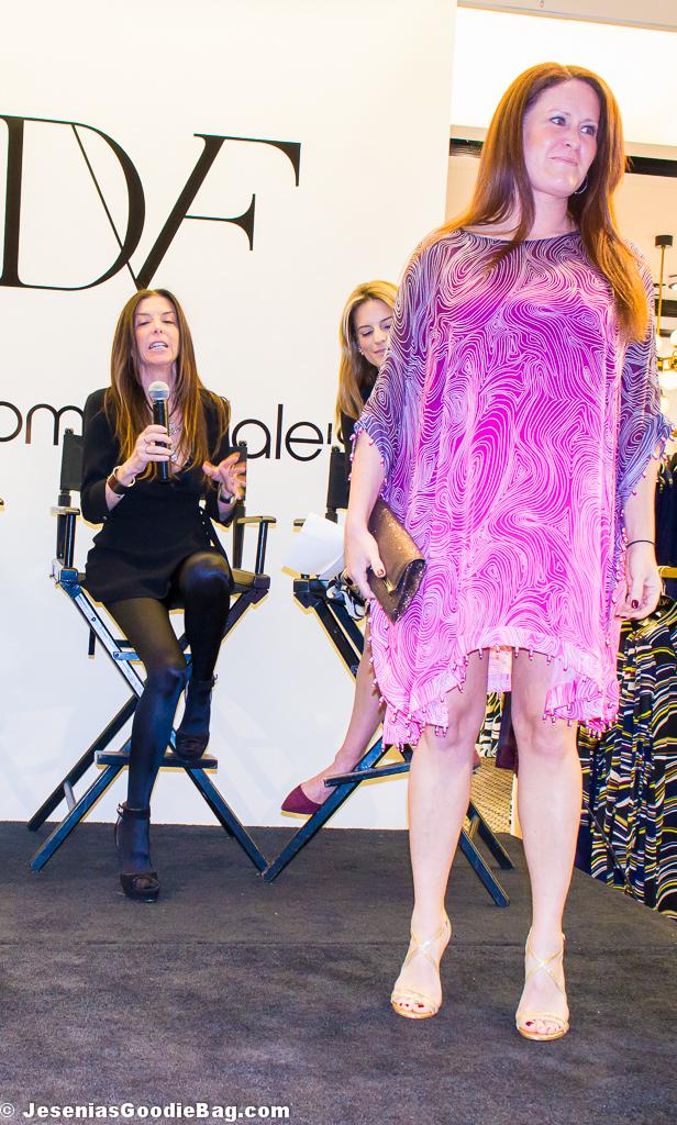 Nessa Silk Tunic Dress (DVF)