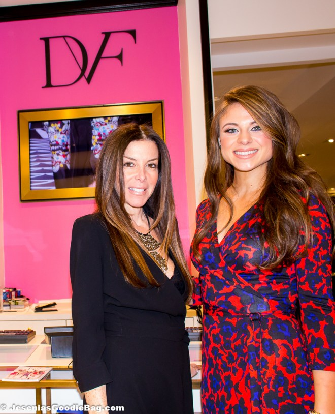 Stefani Greenfield with Lenore Genovese (DVF)