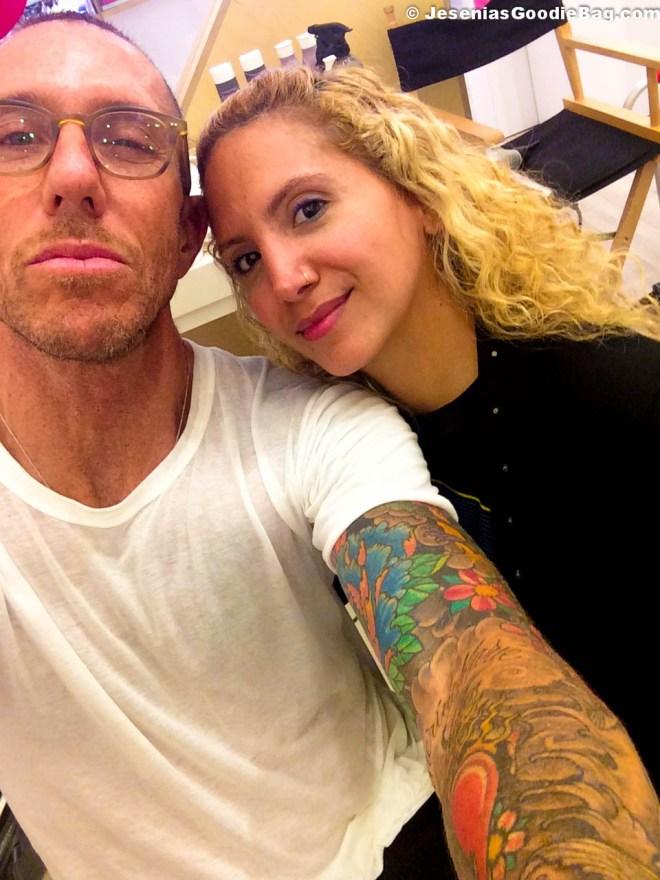 Chris McMillan with Jesenia (JGB Editor)