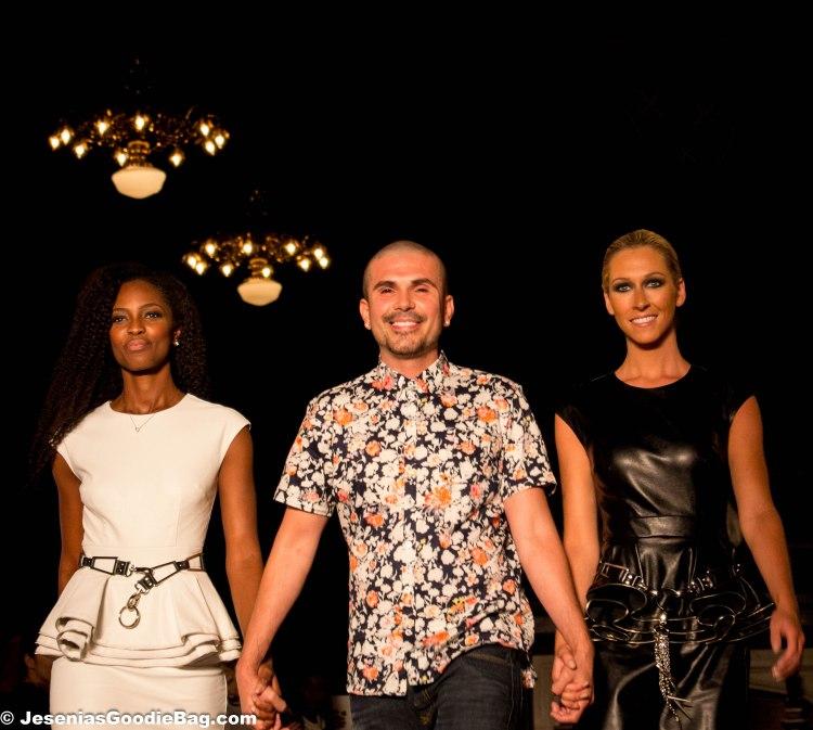 Erik Rosete with models