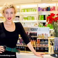 Poppy King Returns to Space NK – Silver Screen Lipsticks Launch Event