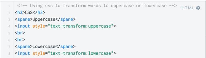 [CSS & jquery]將input輸入文字自動轉為大寫 – Jeserlin的程式筆記