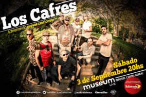 Flyer Los Cafres en Museum Live