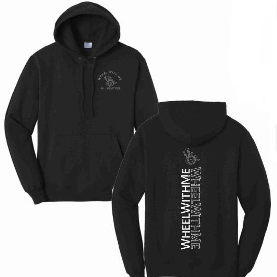 Wheel With Me Foundation Hoodie