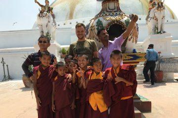 Udflugt til Bouddhanath Stupa