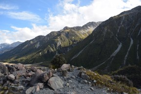 Top of Blue Lakes hike, Mt. Cook