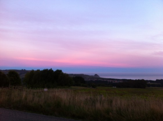 Sunset, Dunedin