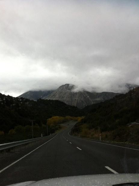 En route to Arthur's Pass