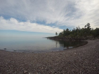 Beautiful secret campground on Lake Superior