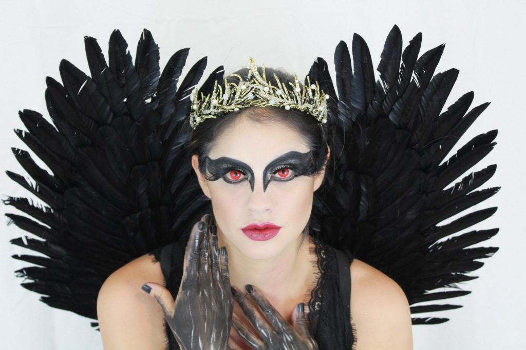 black swan halloween makeup jess bonilla