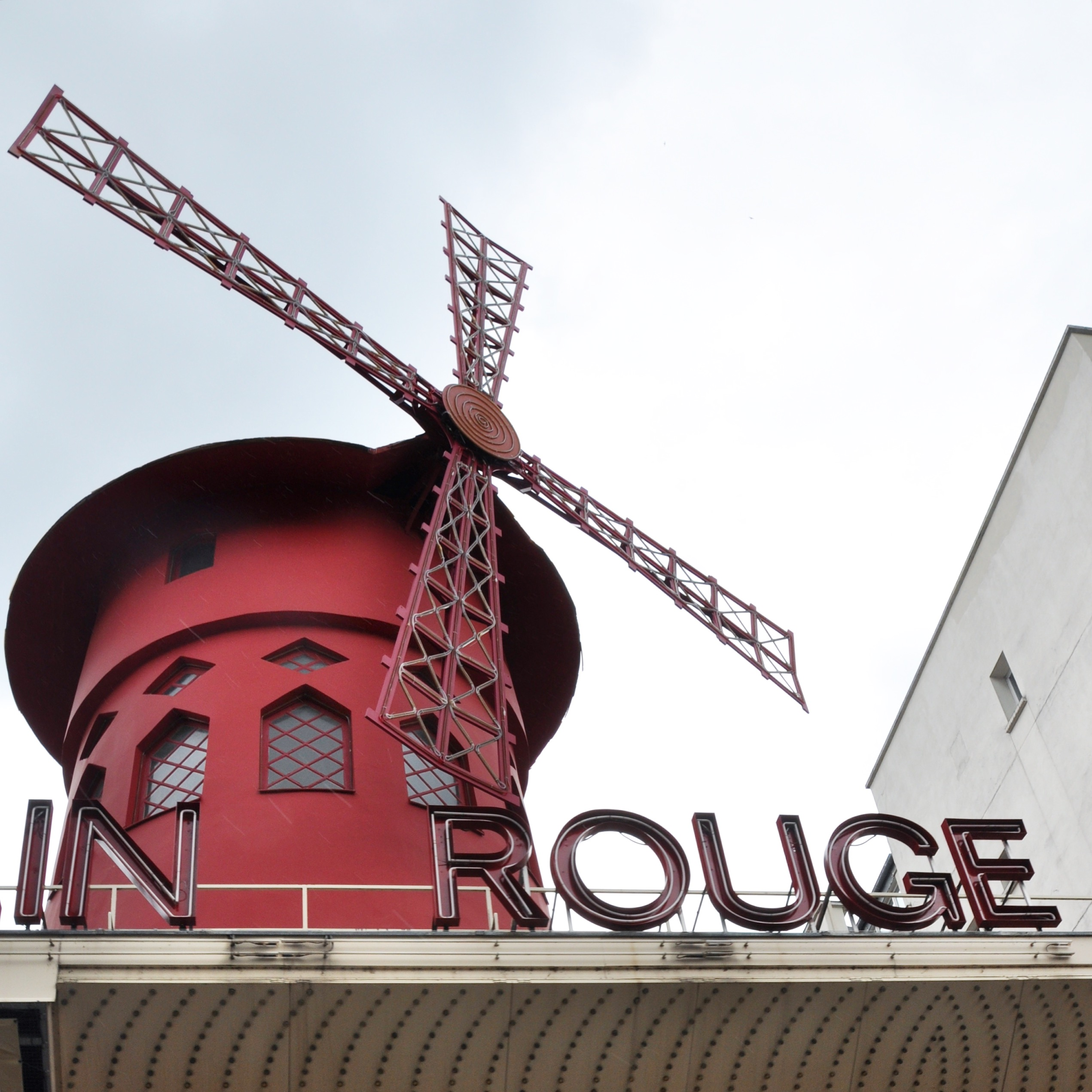 Moulin Rouge in Pigalles, Paris