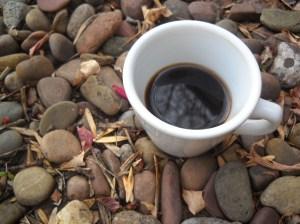 coffee on the rocks