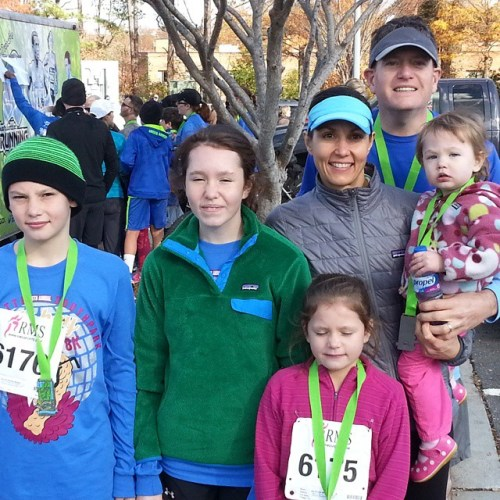 Jesse Brown's-Bartee family represented strong at the Thanksgiving day #southparkturkeytrot