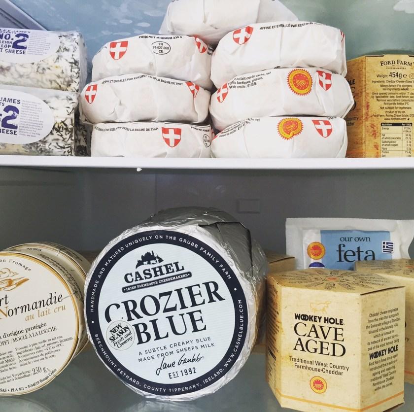 personal chef cheese board