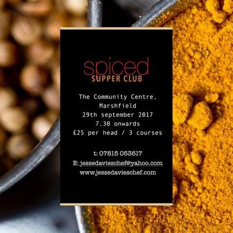 SPICED Supper Club in Marshfield