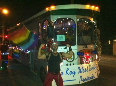 Key West holiday parade!