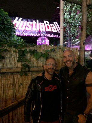 Dirk and me at HustlaBall Berlin 2015