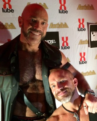 Me and Dirk at HustlaBall Berlin 2015