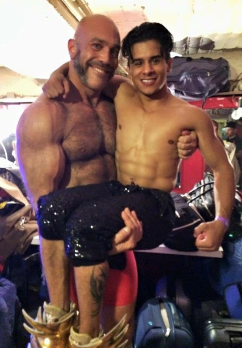 Backstage with Armond Rizzo