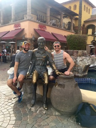 Eric Nero, Matthew Bosch, and Sonny Bono in downtown Palm Springs