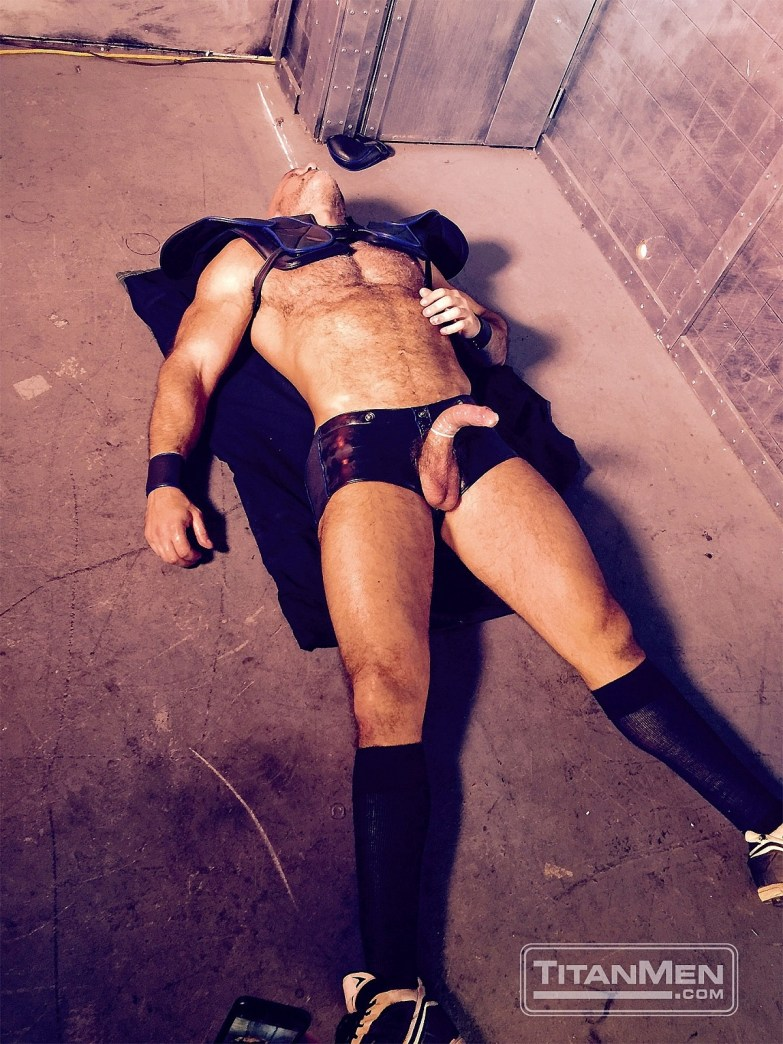 Jesse Jackman in TitanMen's ICONS (Behind the Scenes)