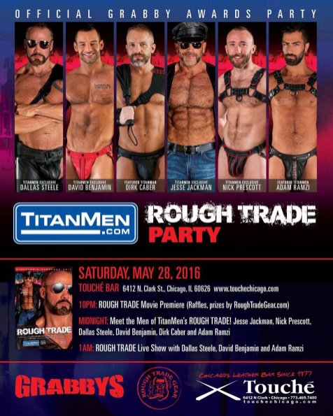 Rough Trade Party Poster