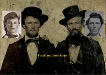 Jesse and Frank James / RJ Pastore Collection