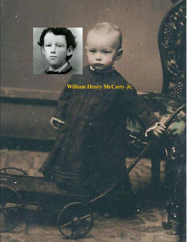 Wm H McCarty baby photo / RJ Pastore Collection