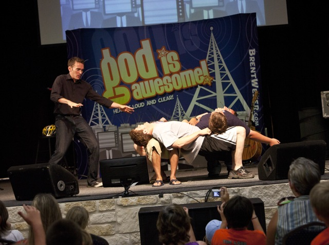 Children's Ministry Stunt Lesson: The Human Table