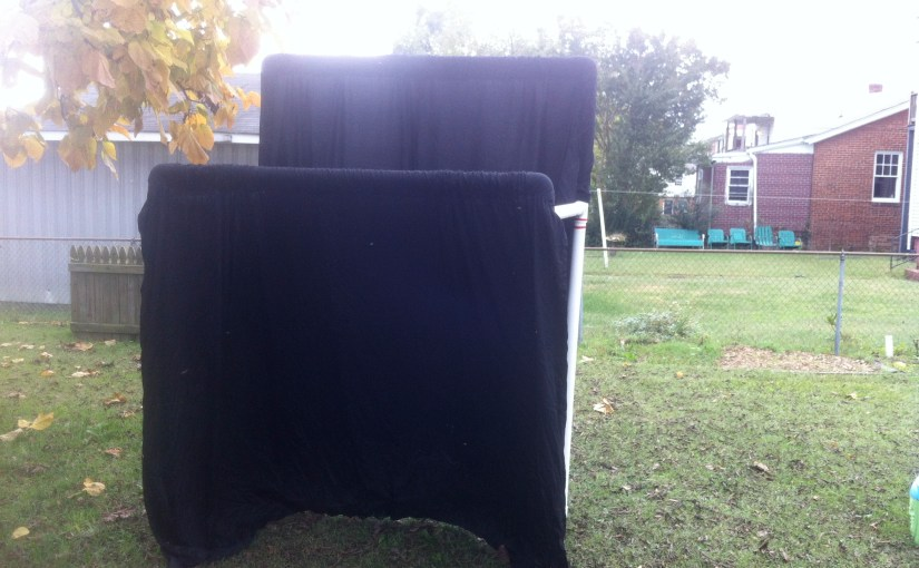 How to Build a Portable Puppet Theater