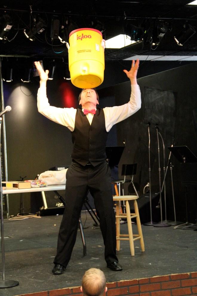 Balancing a water cooler!