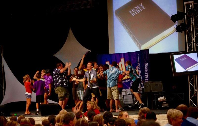 Large Group Game: Super Bible Trivia