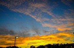 Sunset on US-321 - Gastonia, NC