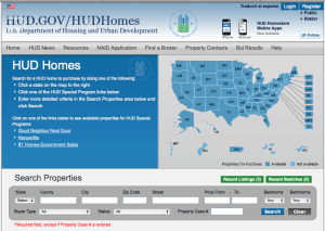 How to Search HUD Homes