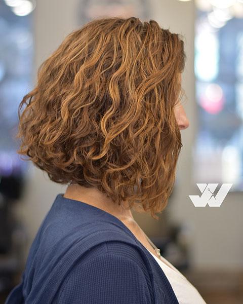 Curly Bob By Jesse Wyatt