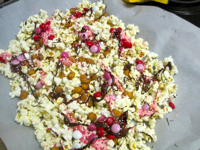 Valentine's Day Popcorn Mix