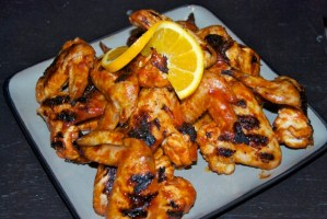Mike Squared Grilled Wings {Sweet & Spicy Grilled Wings}