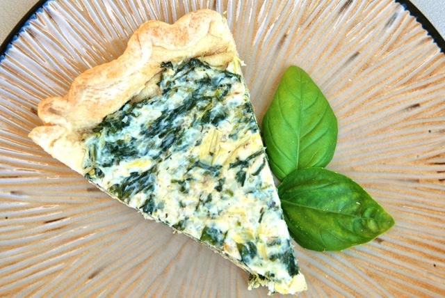 Spinach and Artichoke Tart