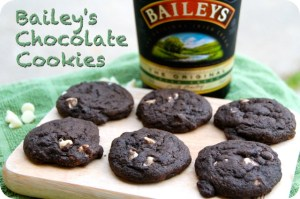 12 Days of Christmas Cookies: Bailey's Chocolate Cookies