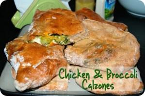 Chicken Broccoli Calzones