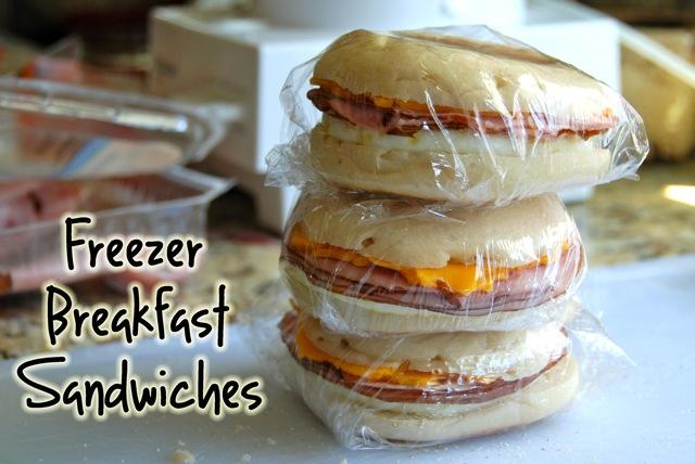 Homemade Freezer Breakfast Sandwiches Flying On Jess Fuel