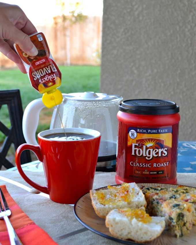 Folgers Flavors let's you customize and #remixyourcoffee!